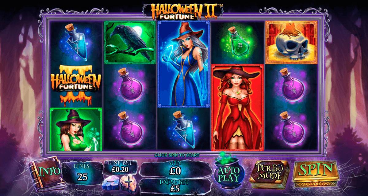 halloween fortune ii playtech spielautomaten