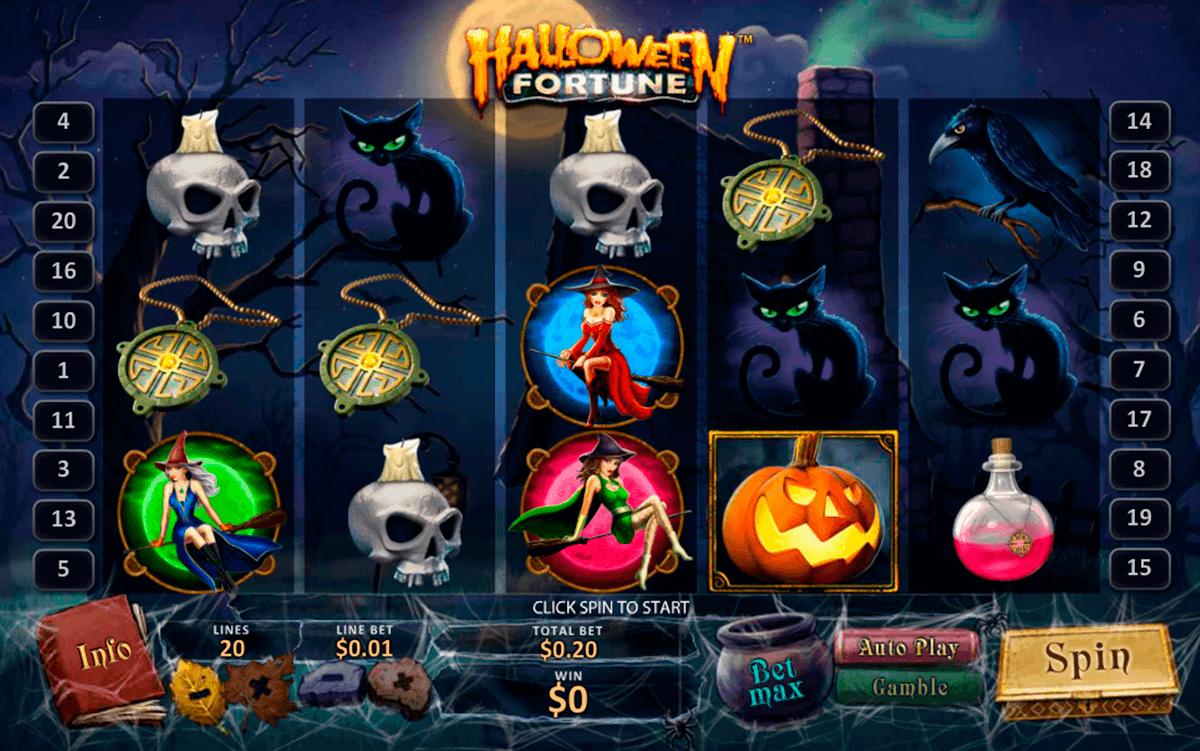 halloween fortune playtech spielautomaten
