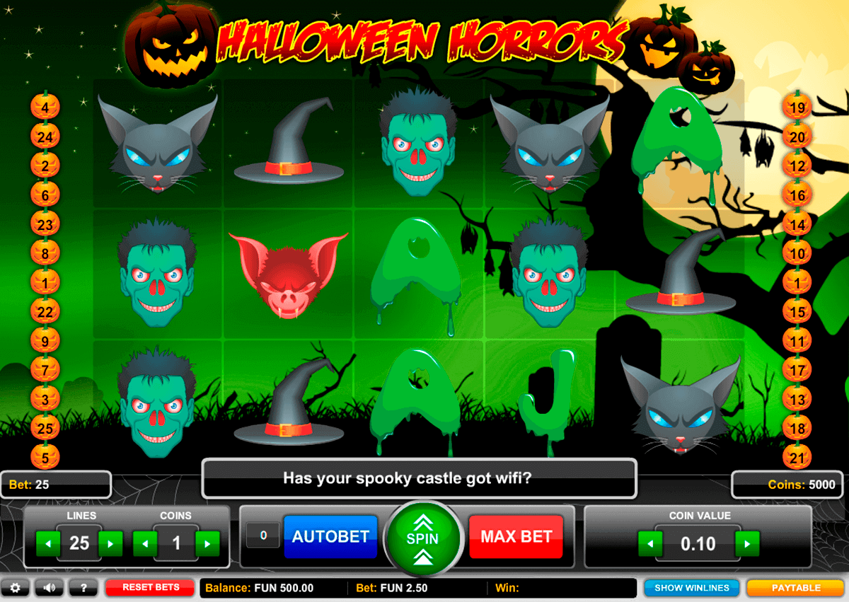 halloween horrors 1x2gaming spielautomaten