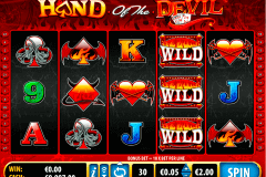 hand of the devil bally spielautomaten