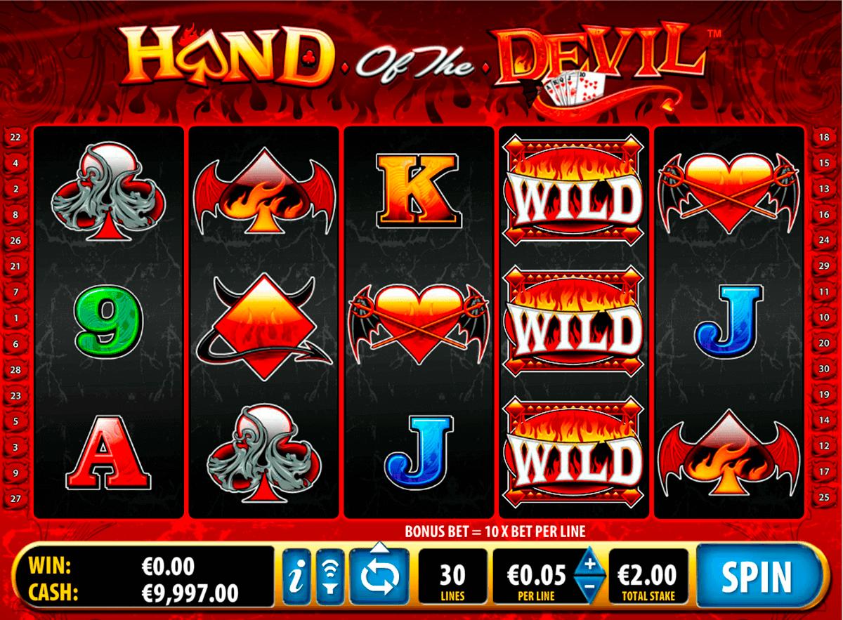 hand of the devil bally spielautomaten