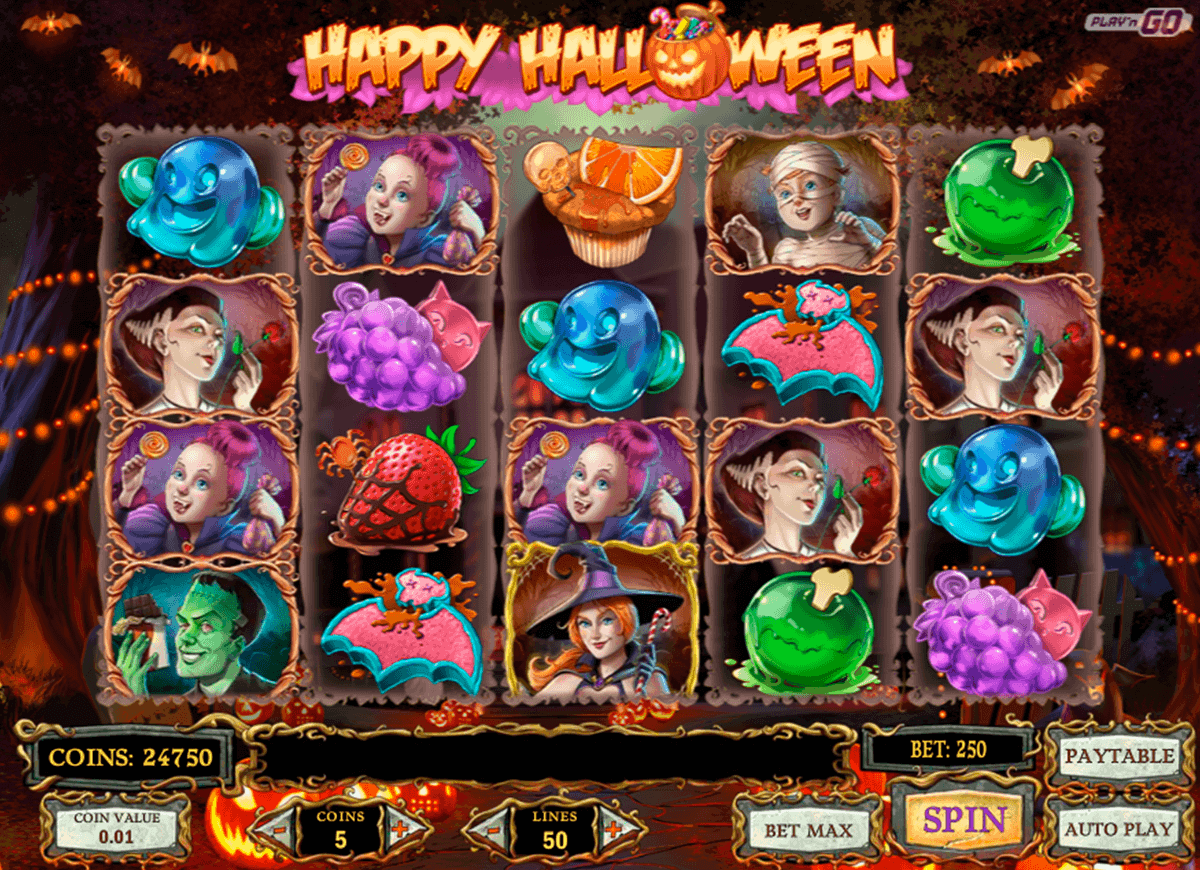happy halloween playn go spielautomat