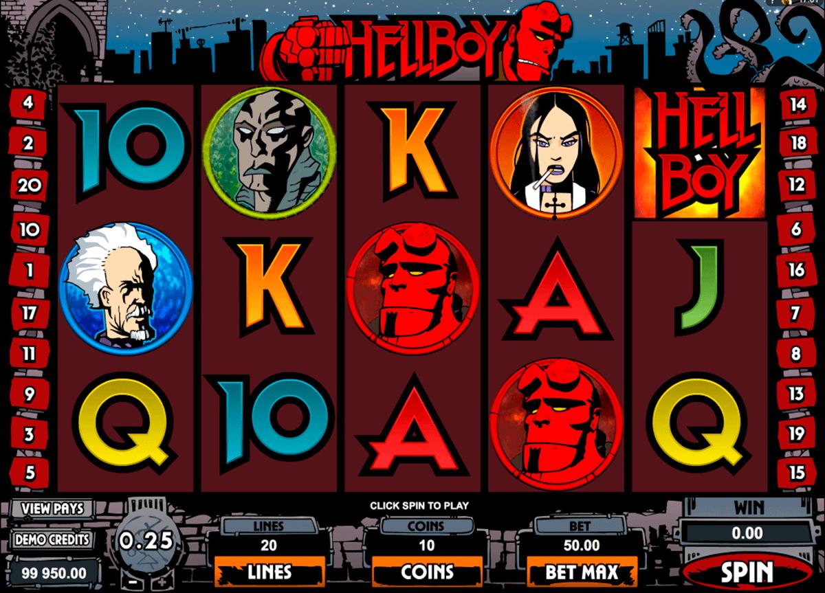 hellboy microgaming spielautomaten