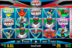 hero war hd world match spielautomaten