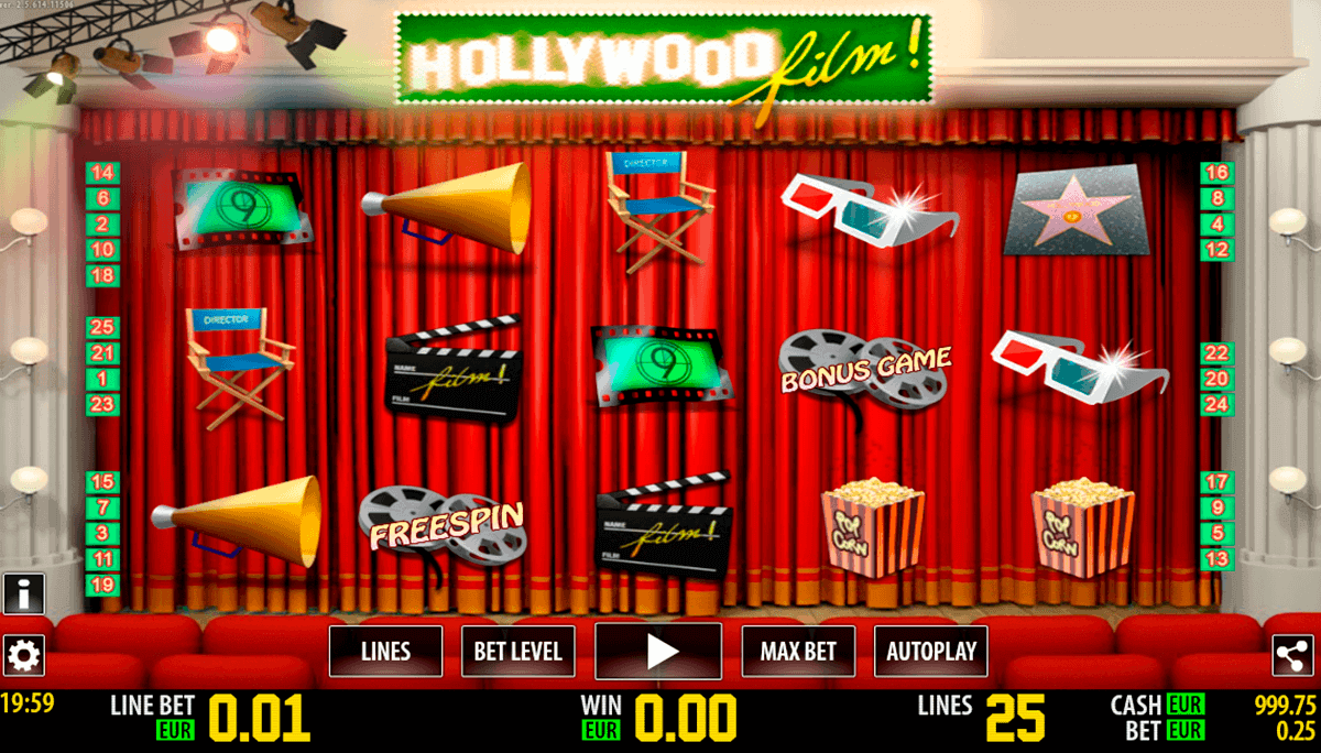 hollywood film hd world match spielautomaten