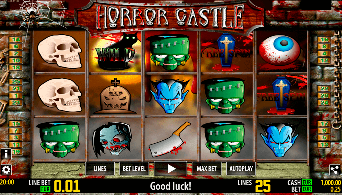 Spiele Horror Castle - Video Slots Online