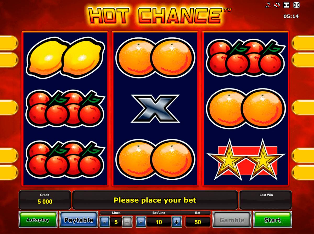 hot chance novomatic spielautomaten