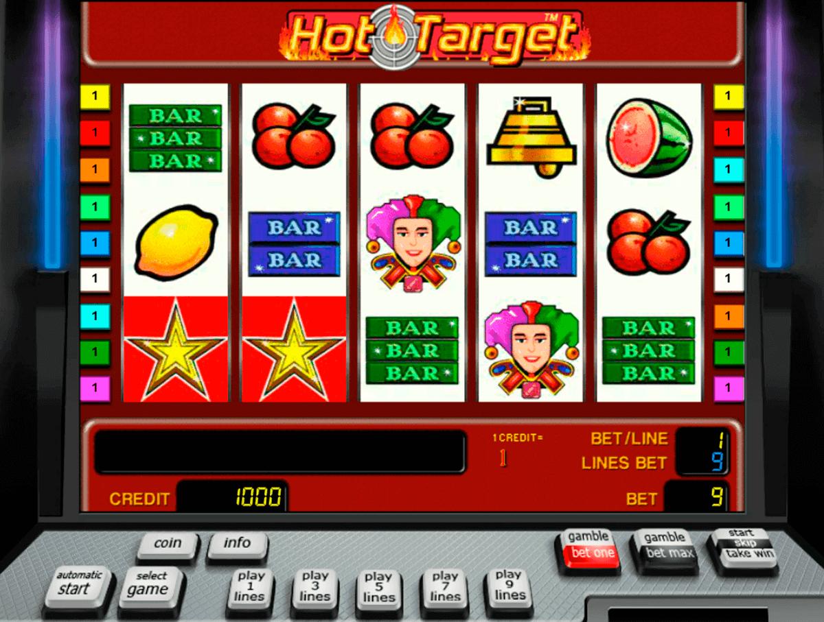 hot target novomatic spielautomaten
