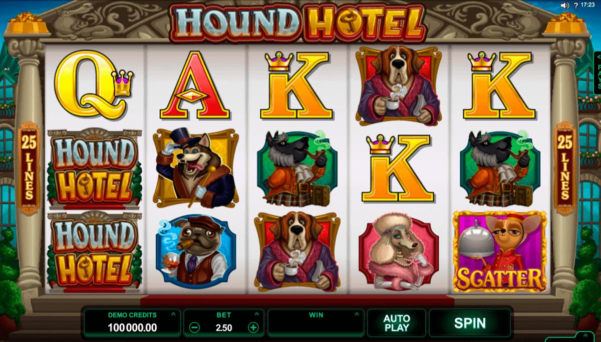 hound hotel microgaming spielautomaten