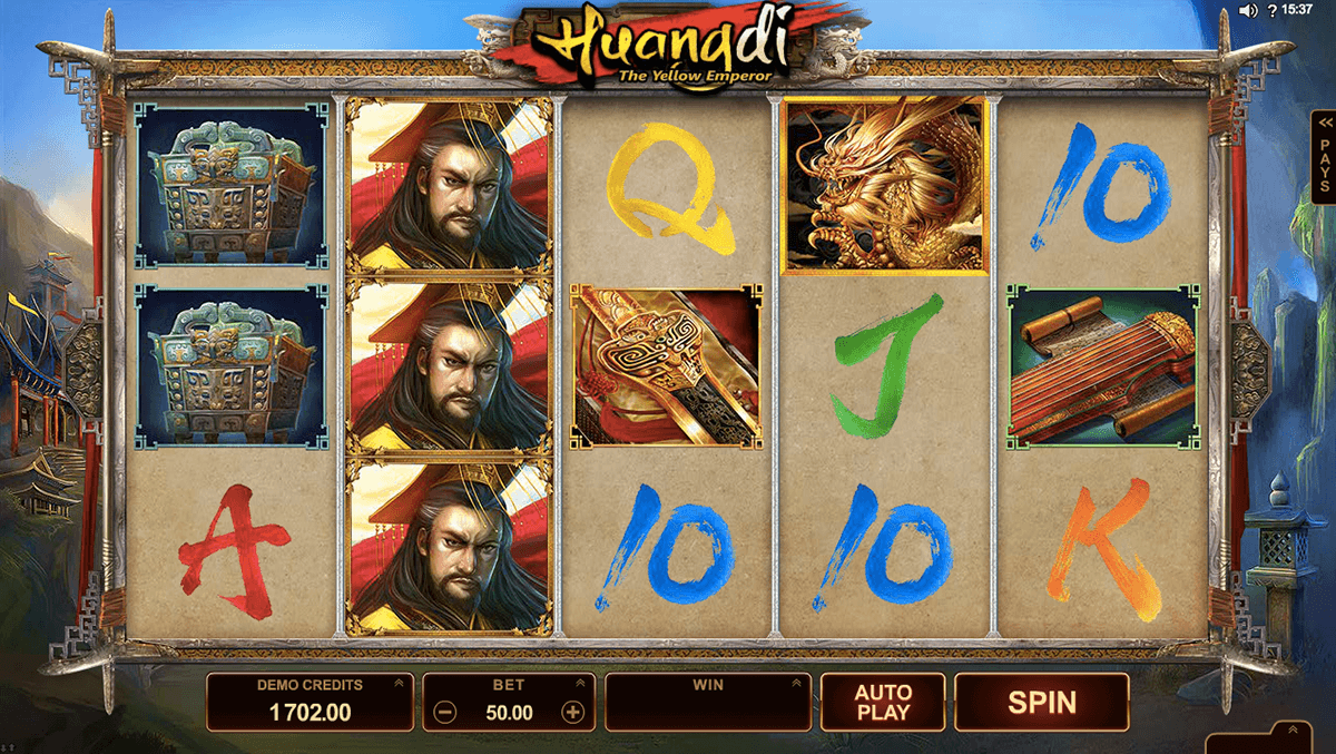 huangdi the yellow emperor microgaming spielautomaten