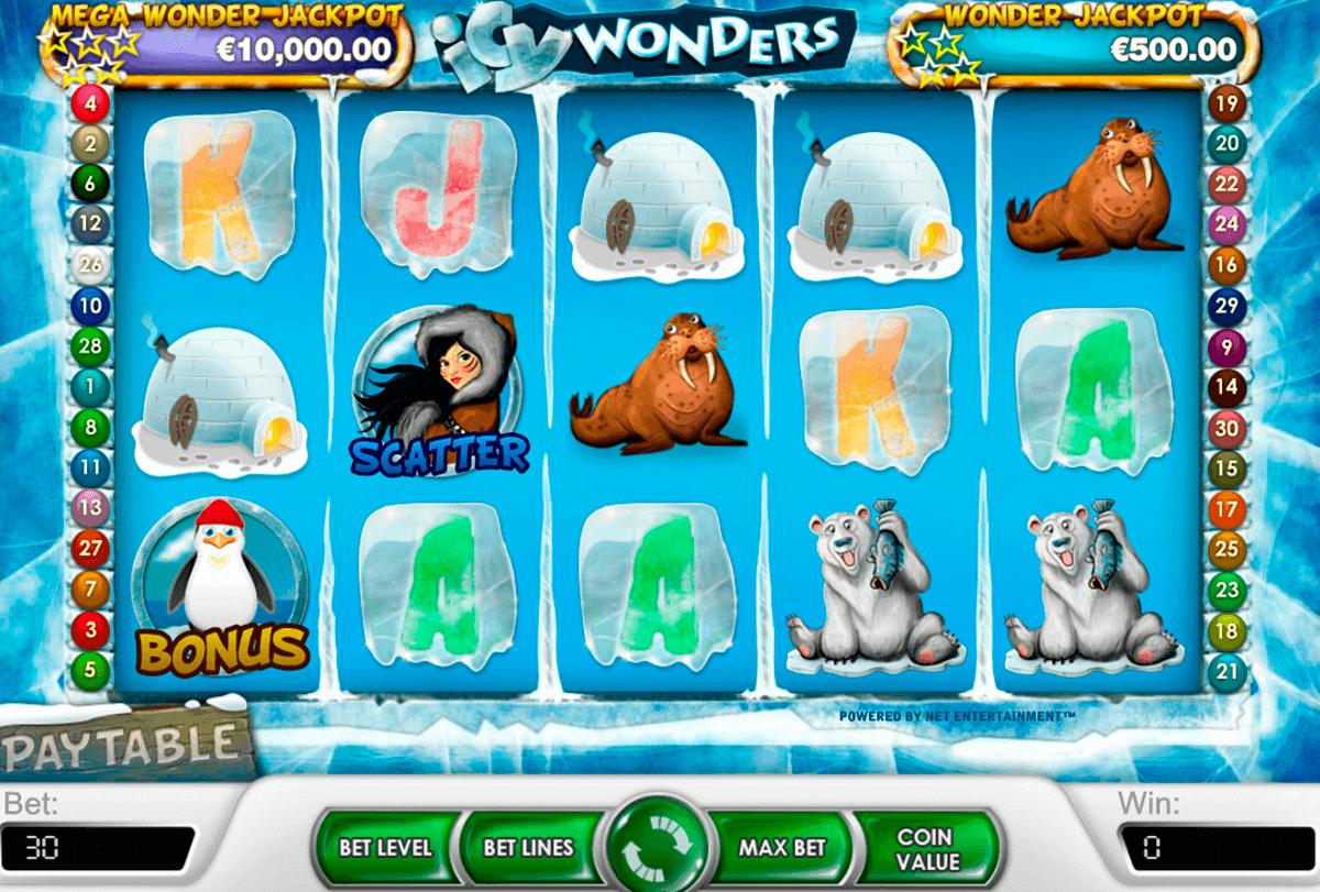 icy wonders netent spielautomaten