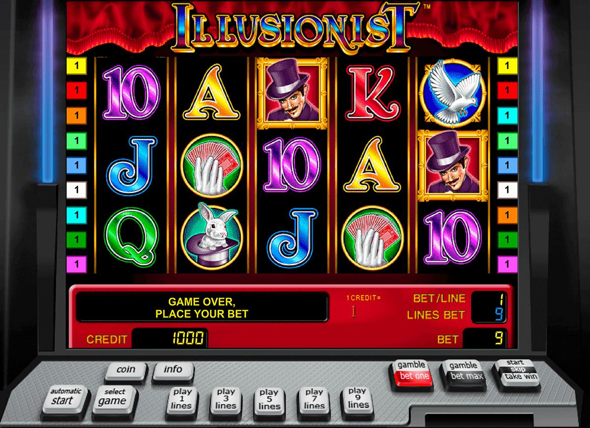 illusionist novomatic spielautomaten