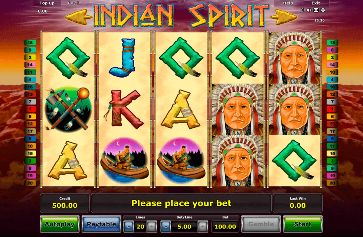 indian spirit spielen