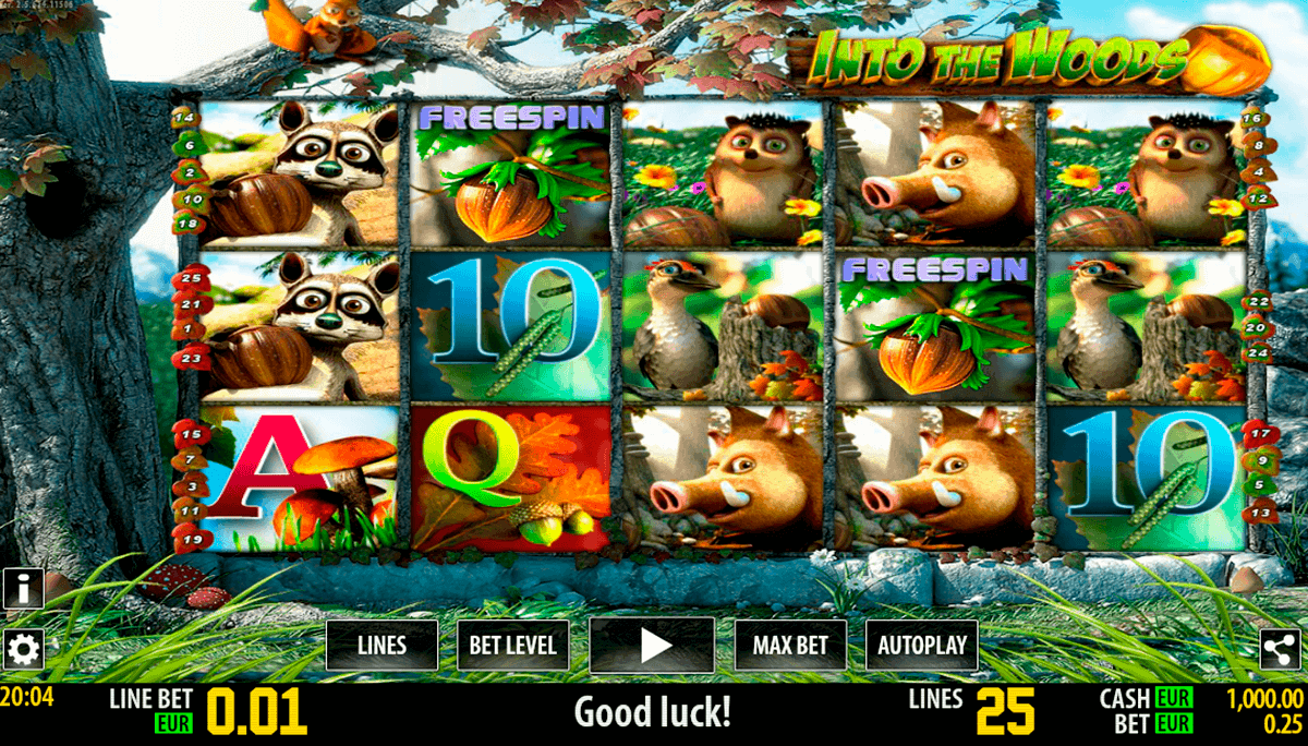 into the woods hd world match spielautomaten