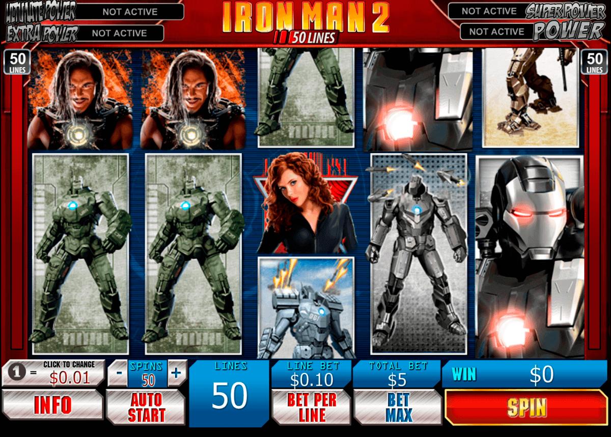 iron man 2 50 lines playtech spielautomaten