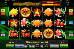 jackpot crown novomatic spielautomaten