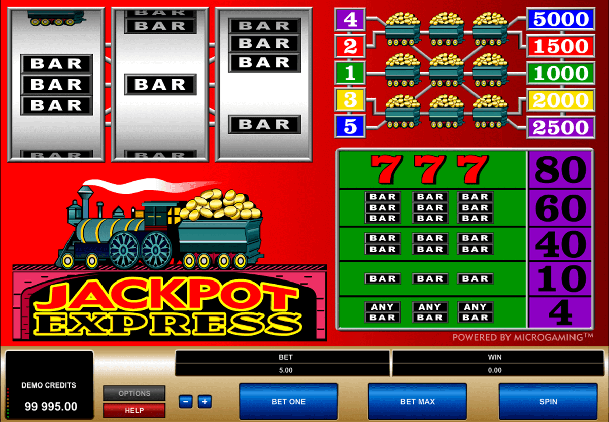 jackpot express microgaming spielautomaten