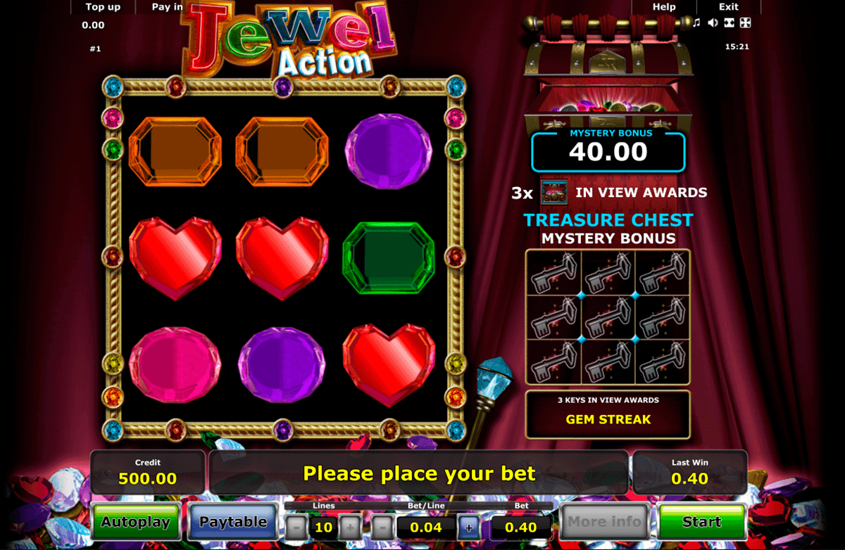 jewel action novomatic spielautomaten