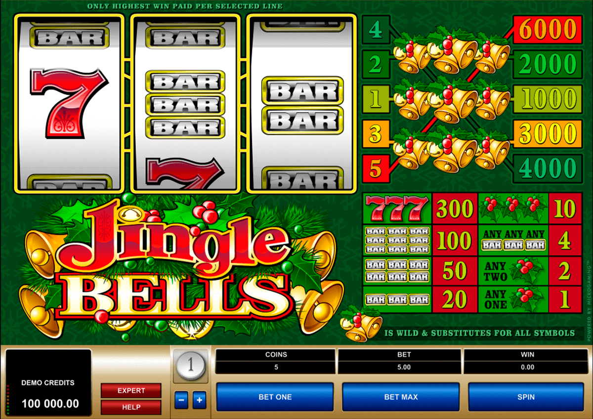 jingle bells microgaming spielautomaten