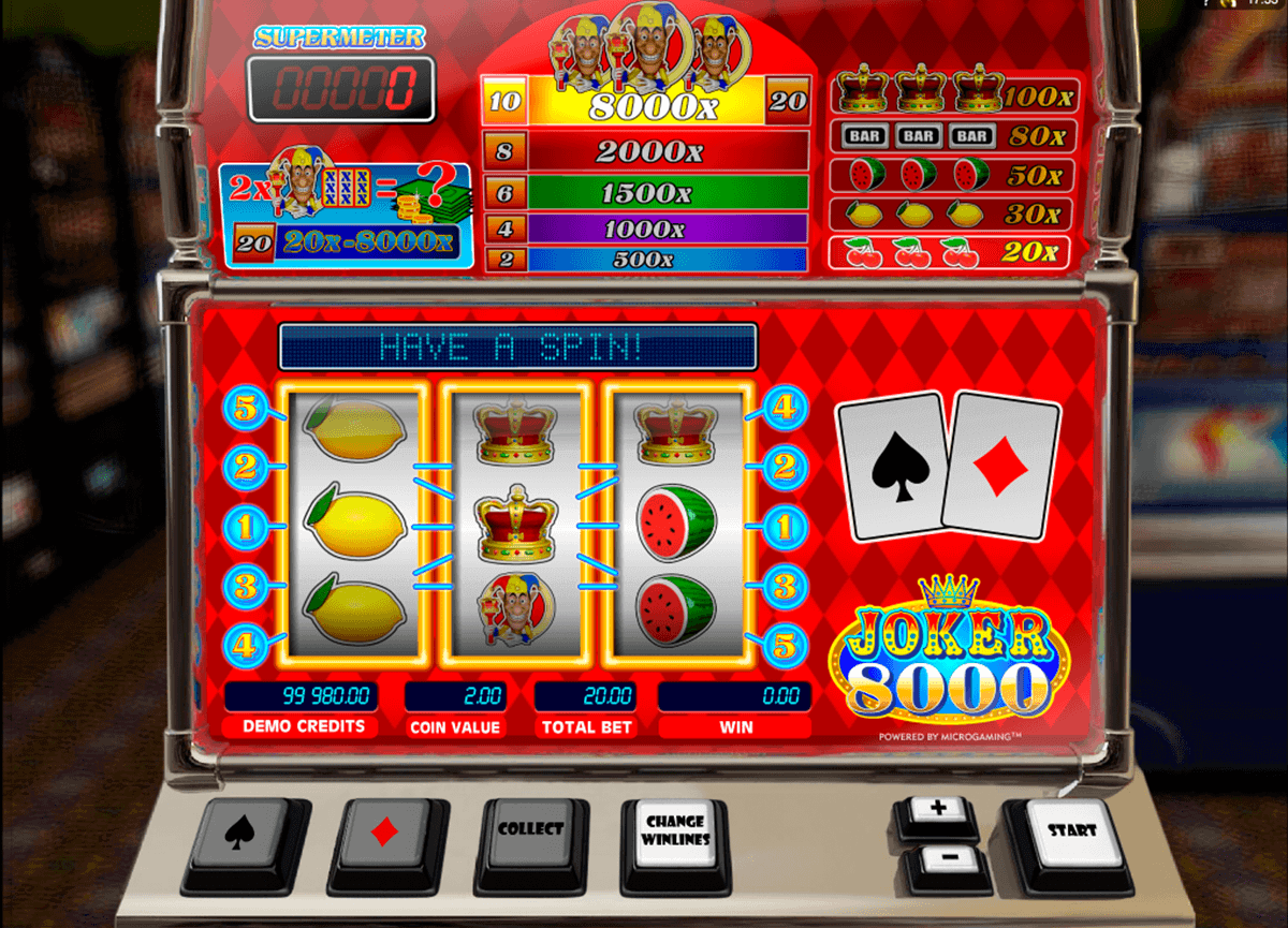 casino online de joker casino
