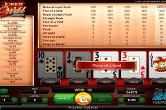 online casino video poker spielen gratis