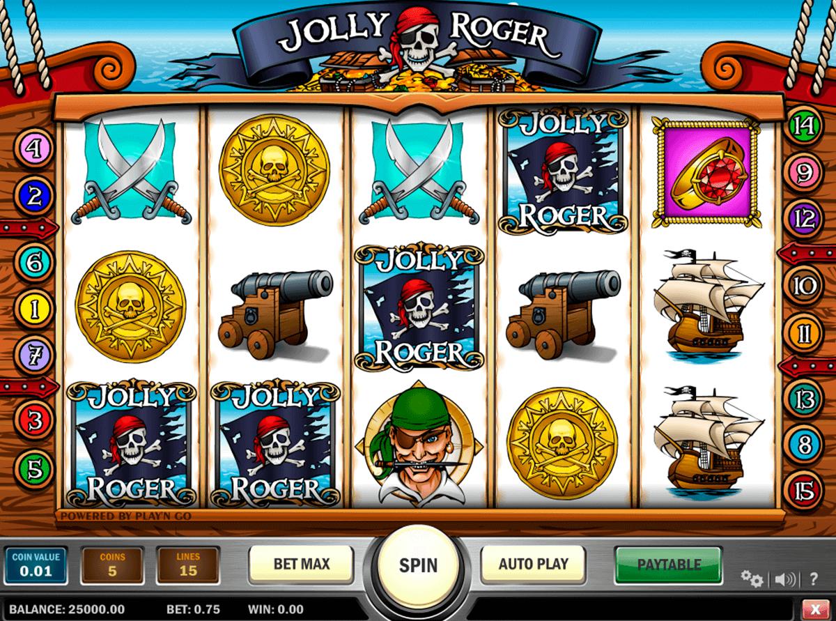 jolly roger playn go spielautomaten