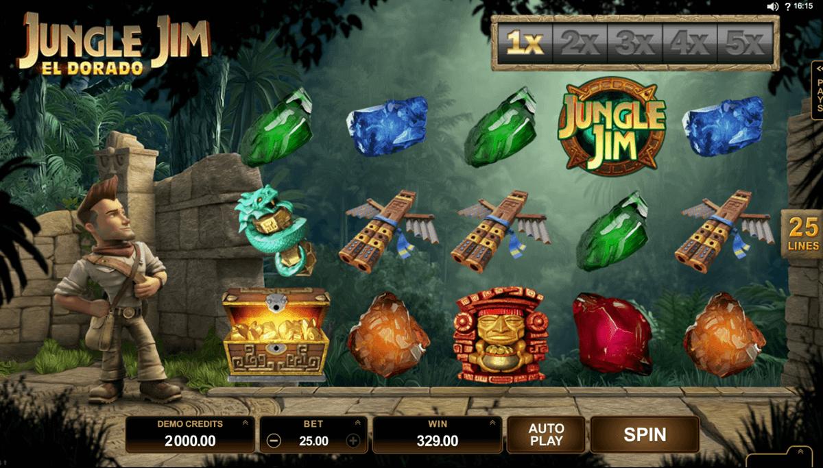 jungle jim el dorado microgaming spielautomaten
