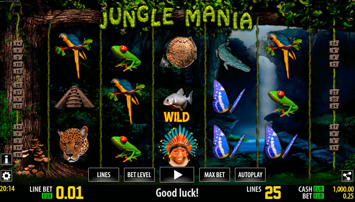 jungle mania hd world match spielautomaten