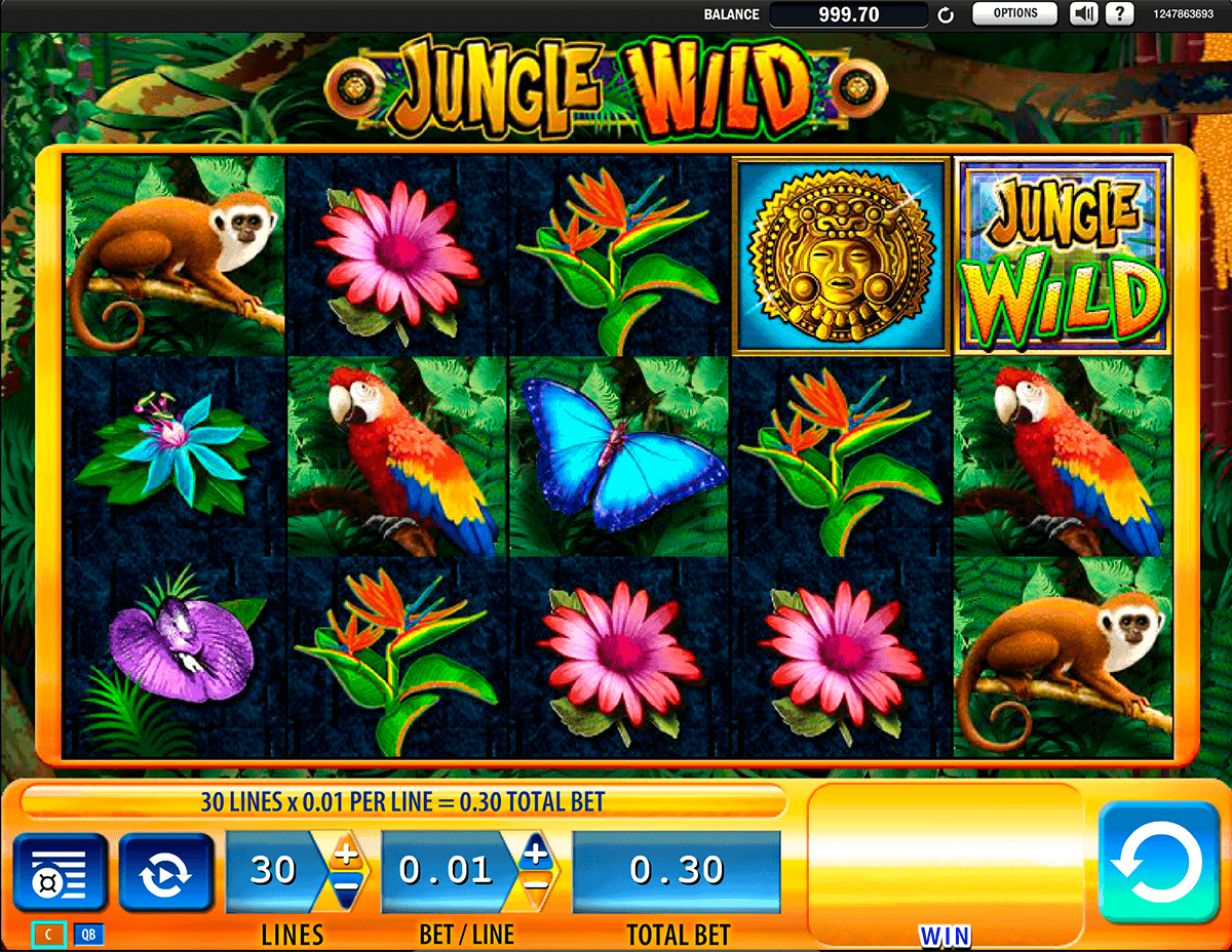 jungle wild wms spielautomaten