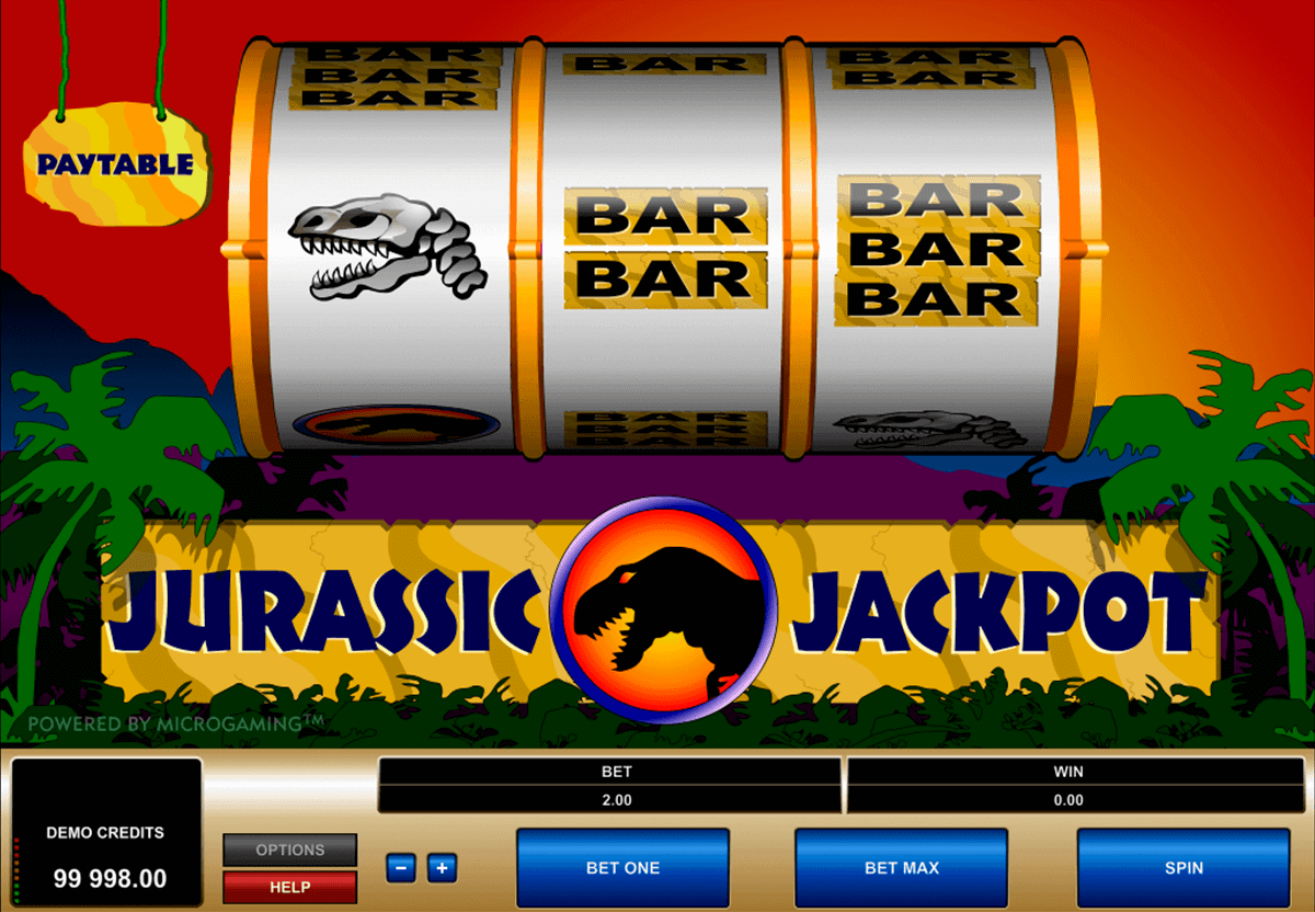 jurassic jackpot microgaming spielautomaten