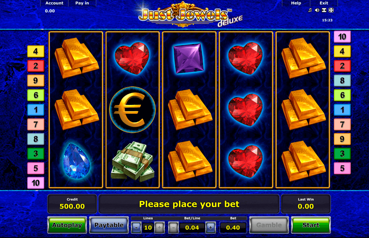 just jewels deluxe novomatic spielautomaten