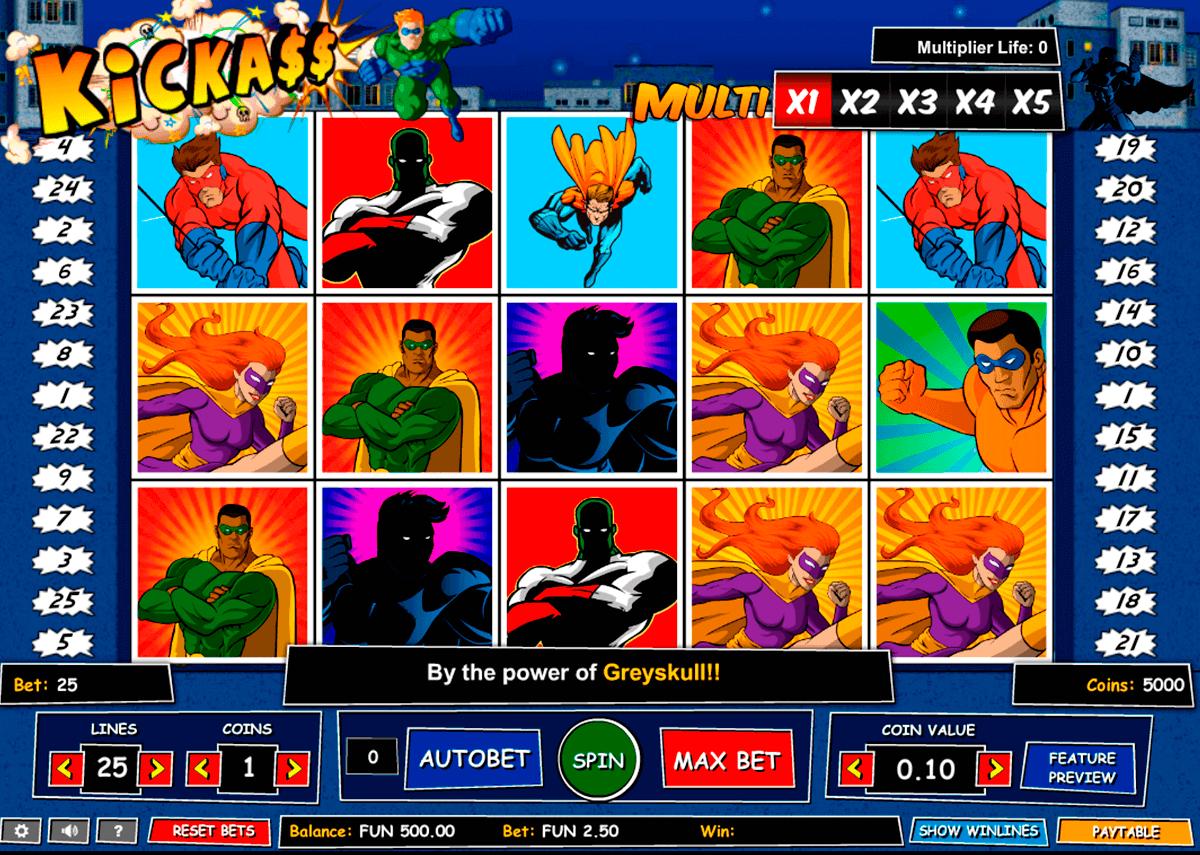 kick ass gaming spielautomaten