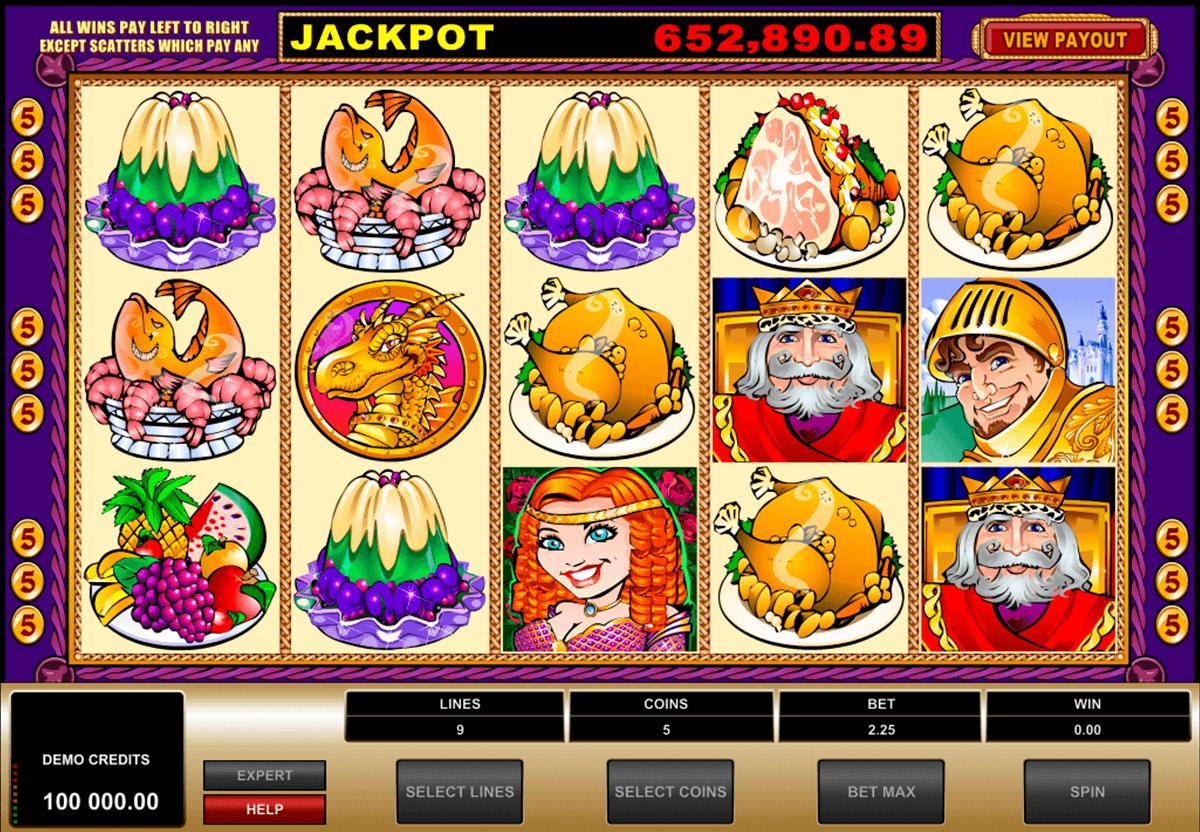 king cashalot microgaming spielautomaten