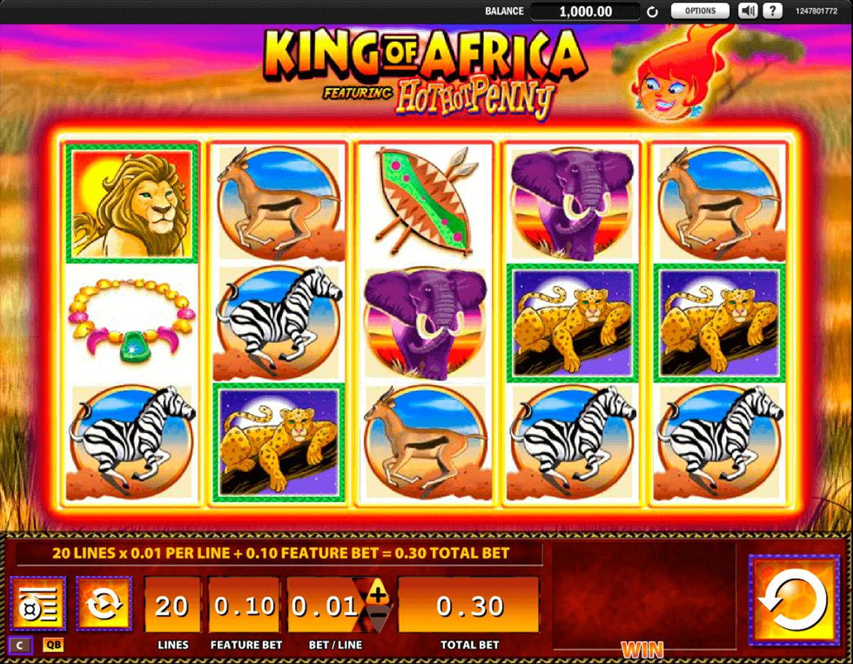 king of africa wms spielautomaten