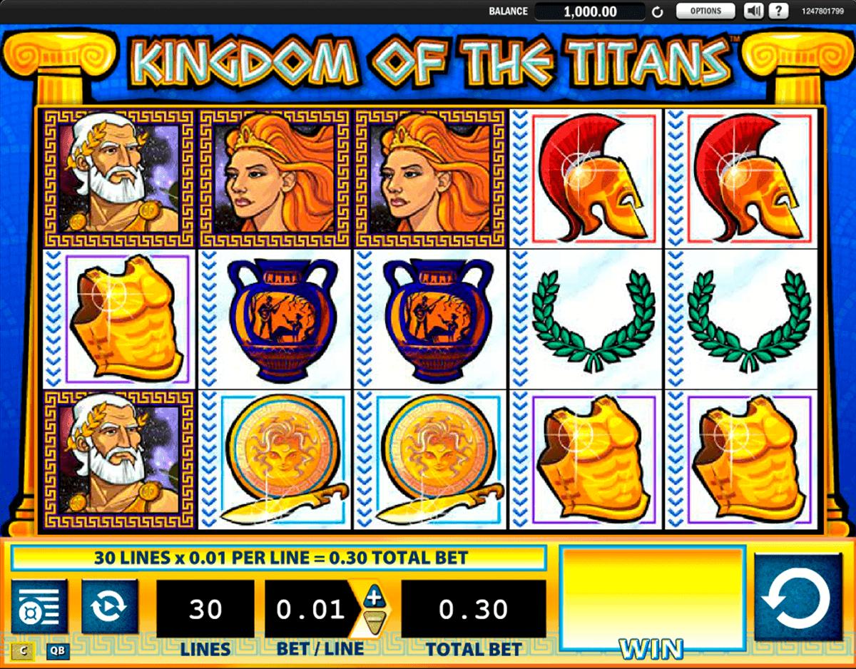 kingdom of the titans wms spielautomaten