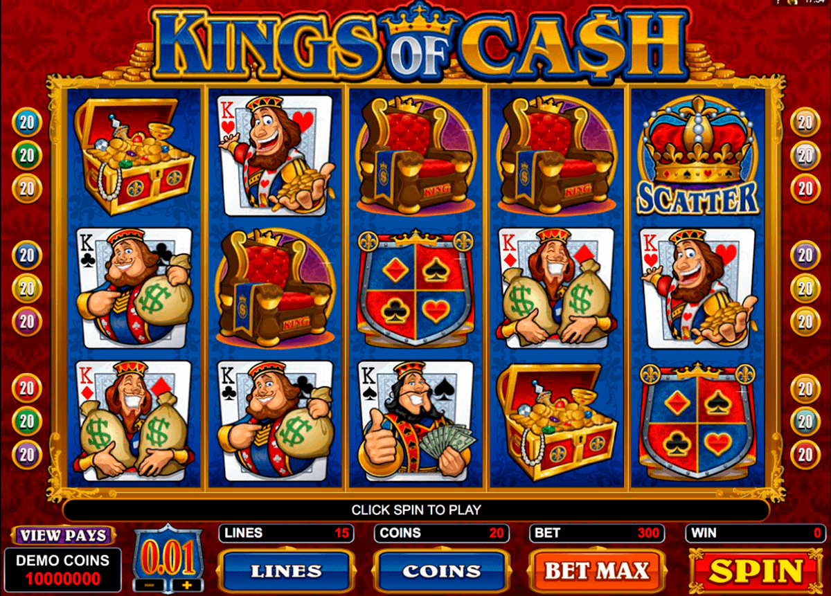 slots online casinos spielen king