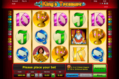 kings treasure novomatic spielautomaten