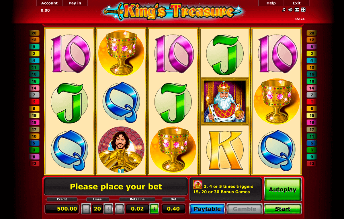 start online casino king spiele