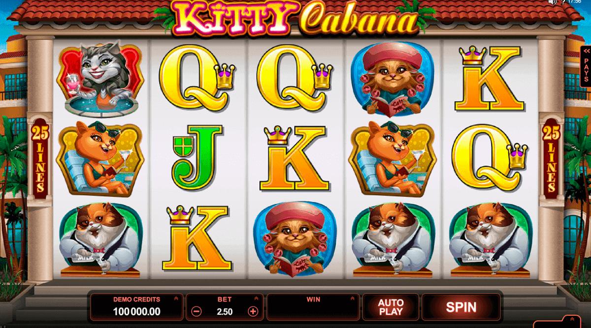 kitty cabana microgaming spielautomaten