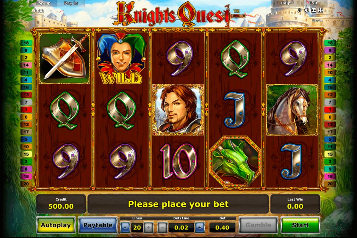 knights quest novomatic spielautomaten