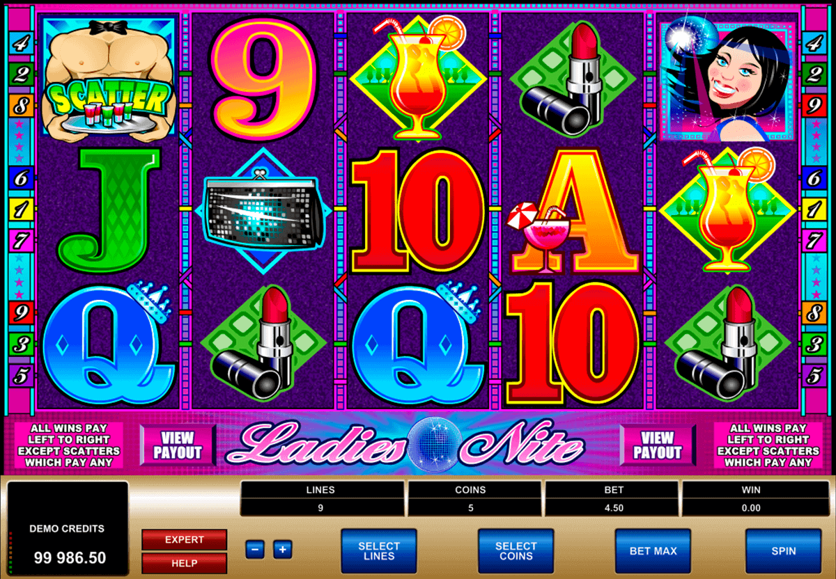 ladies nite microgaming spielautomaten