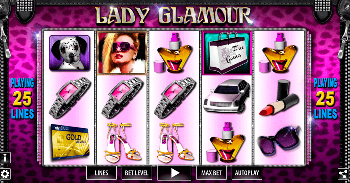 lady glamour hd world match spielautomaten