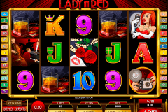 lady in red microgaming spielautomaten