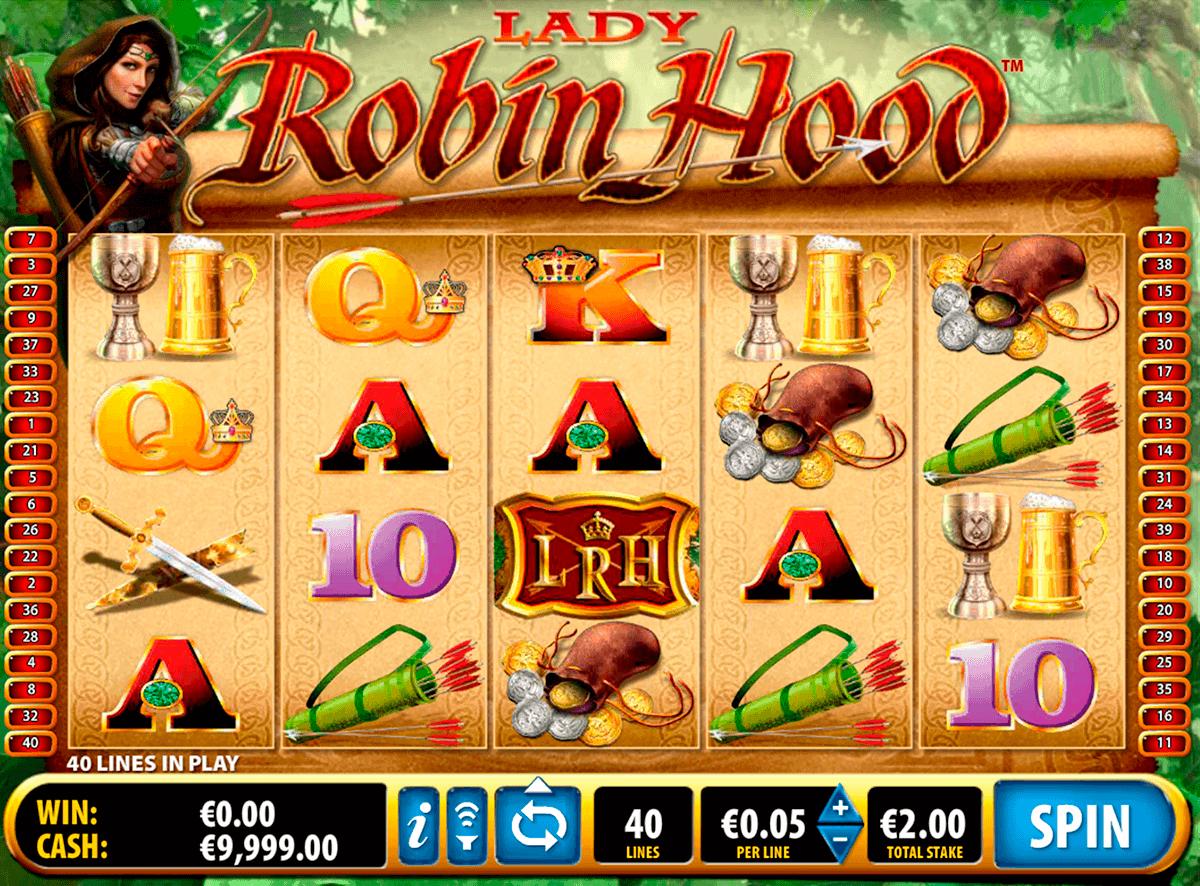 lady robin hood bally spielautomaten