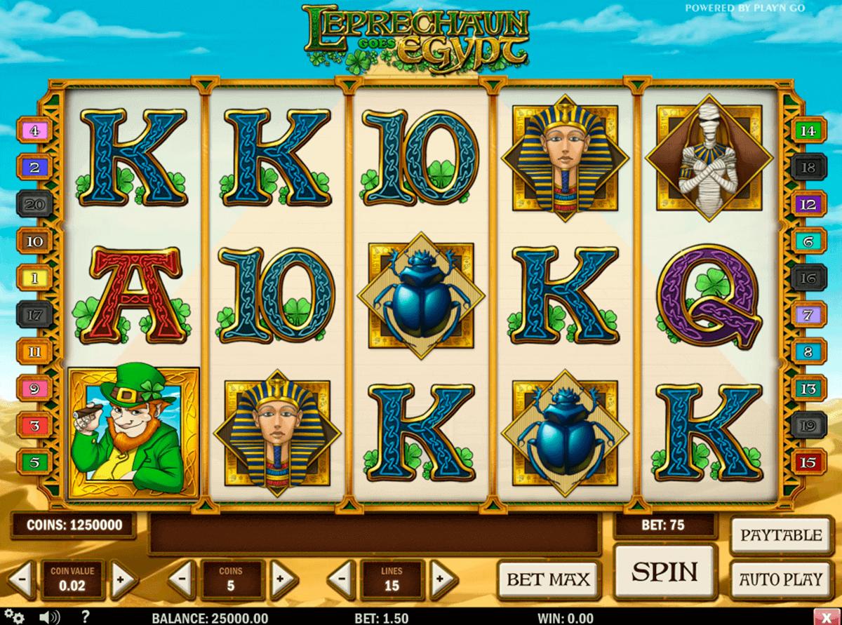 leprechaun goes egypt playn go spielautomaten
