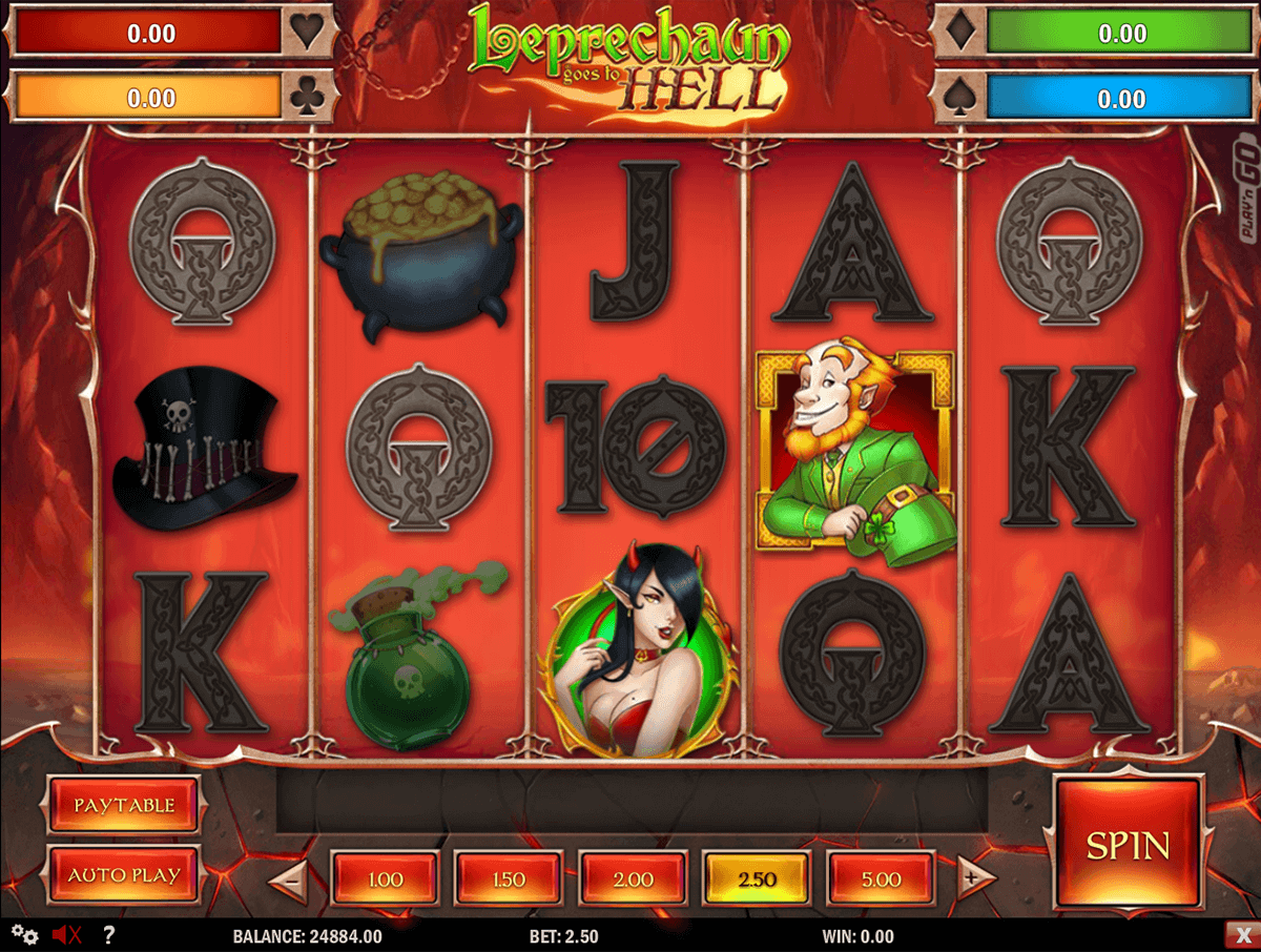 leprechaun goes to hell playn go spielautomaten