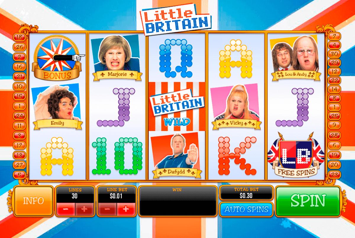 little britain playtech spielautomaten