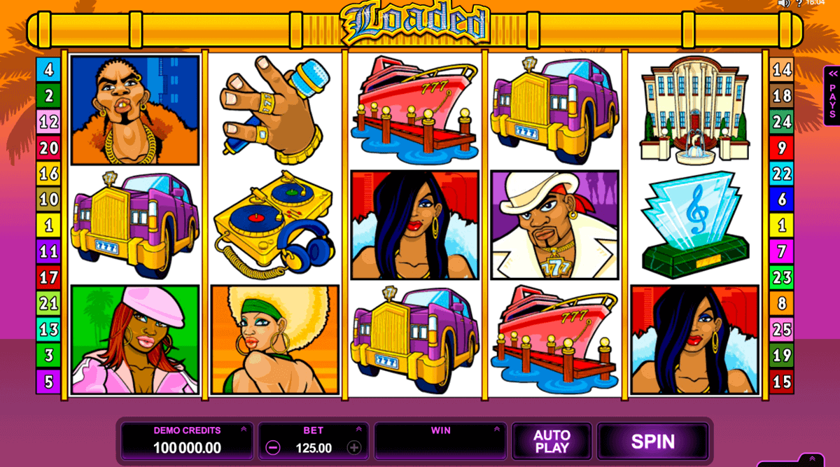 loaded microgaming spielautomaten