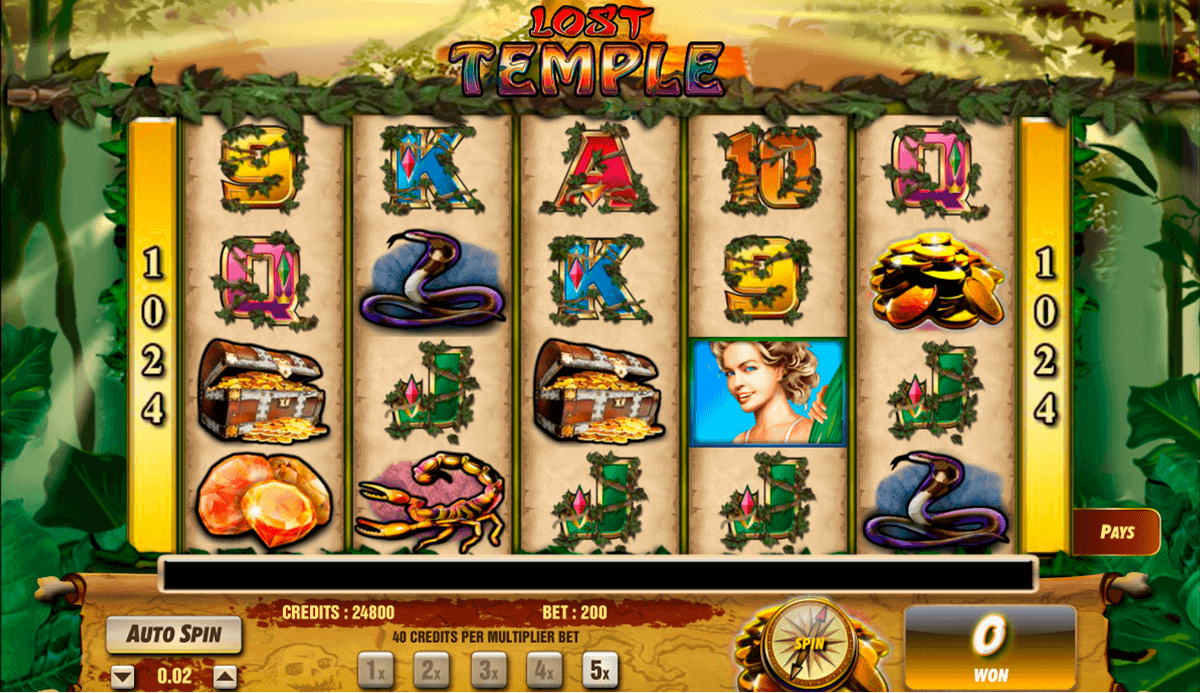 lost temple amaya spielautomaten