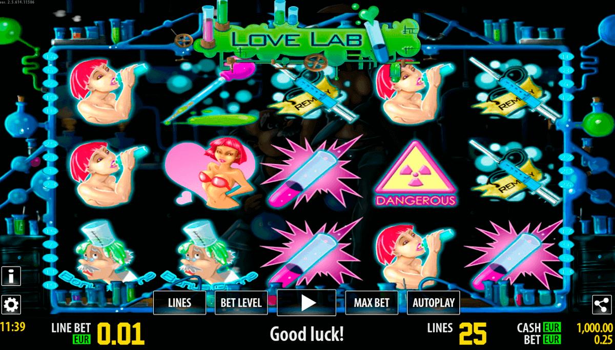love lab hd world match spielautomaten